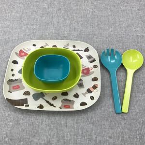 Disposable soup bowl gift set