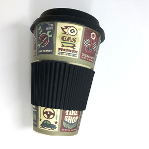 colorful bamboo fibre coffee mugs